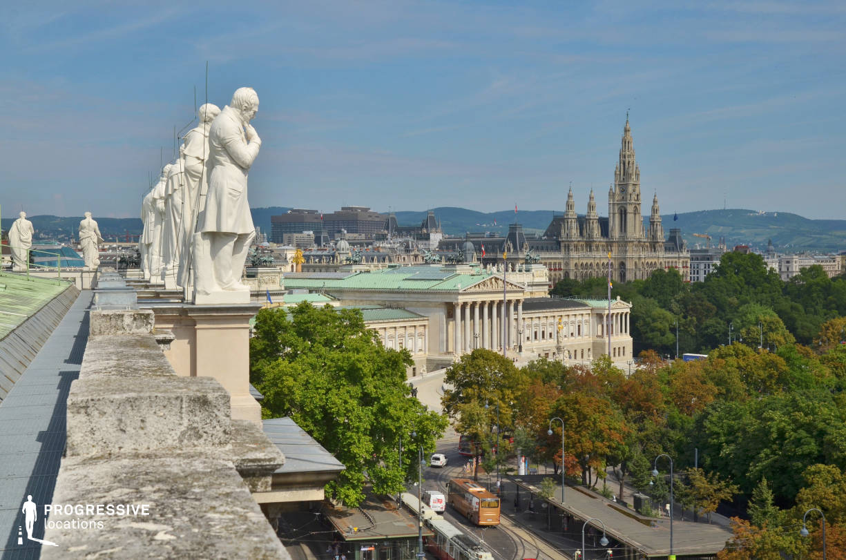 Locations in Austria: Rooftop %26 City View, Natural History Museum