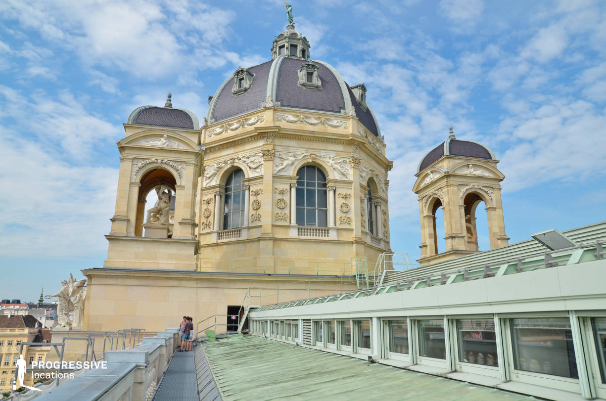 Locations in Austria: Rooftop, Natural History Museum