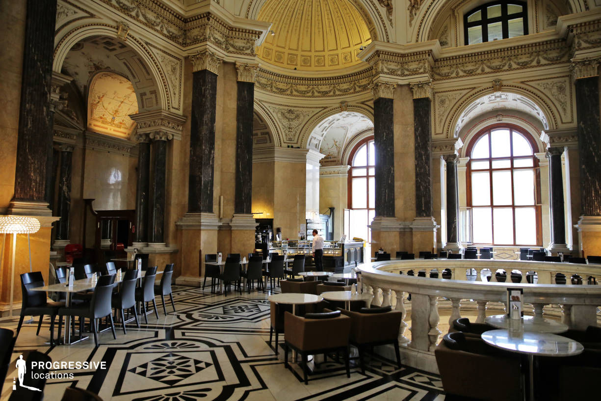 Locations in Austria: Aula, Natural History Museum