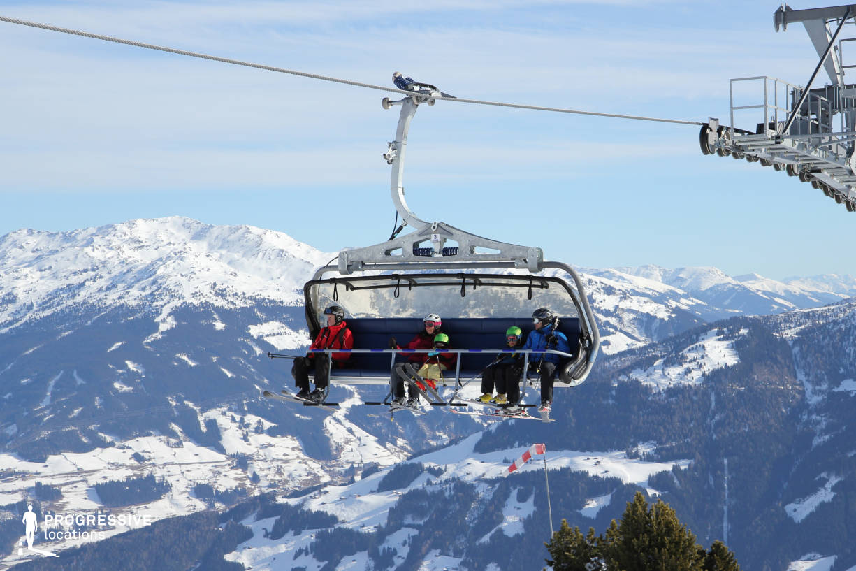 Locations in Austria: Chairlift, Penken
