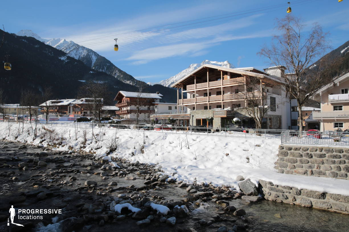 Locations in Austria: Stream, Mayrhofen