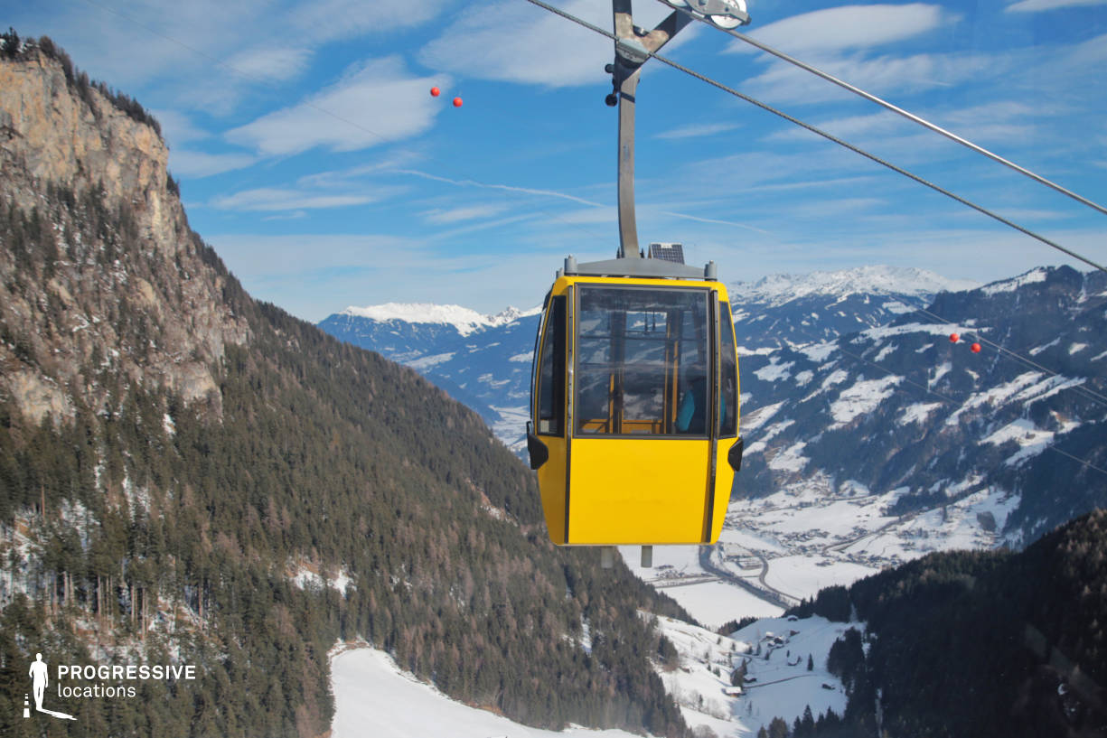 Locations in Austria: Gondola Lift, Penkenbahn
