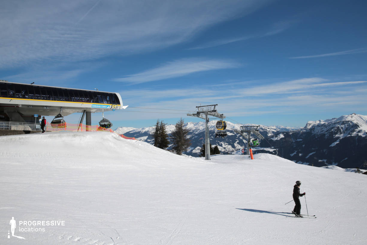 Locations in Austria: Ski Lift, Penkenbahn