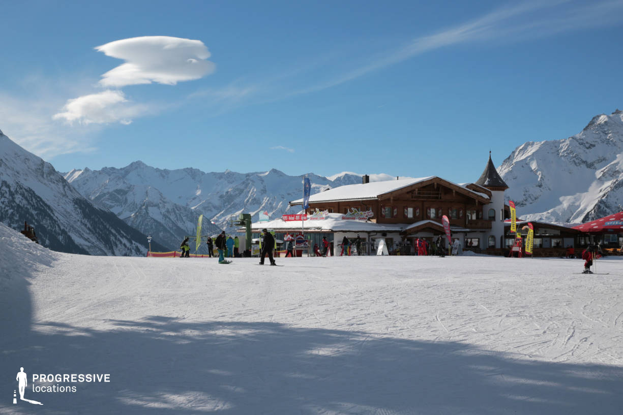 Locations in Austria: Ski Huette, Penken