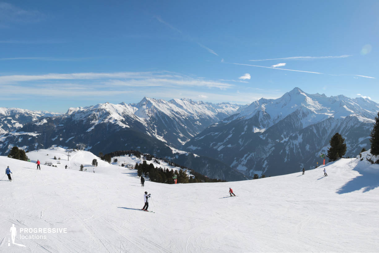Locations in Austria: Slopes %26 Panorama, Penken