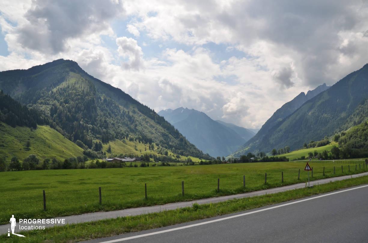 Locations in Austria: Field, Gosau Valley