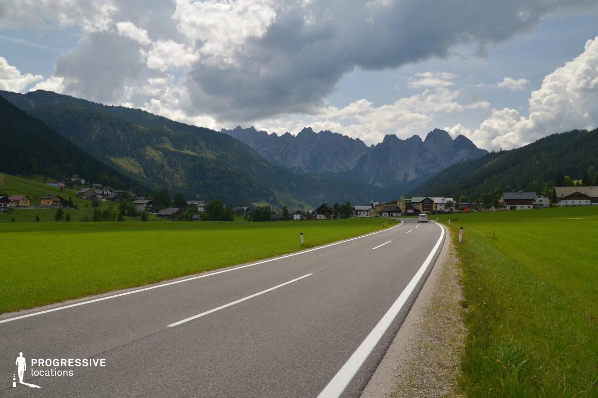 Locations in Austria: Mountains, Gosau Valley