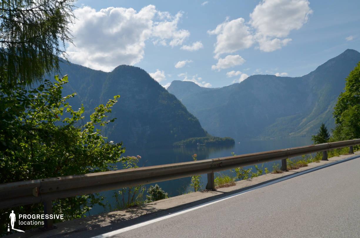 Locations in Austria: Lake View, Hallstatt