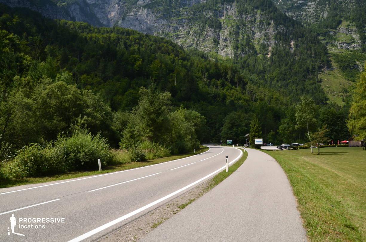 Locations in Austria: Mountains, Hallstatt Road