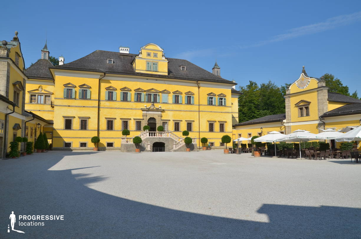 Locations in Salzburg: Court, Hellbrunn Palace