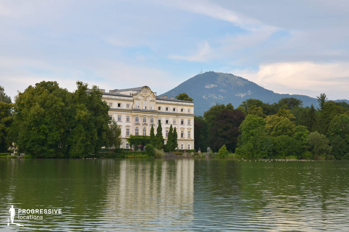 Locations in Salzburg: Leopoldskron Palace (View From Lake)