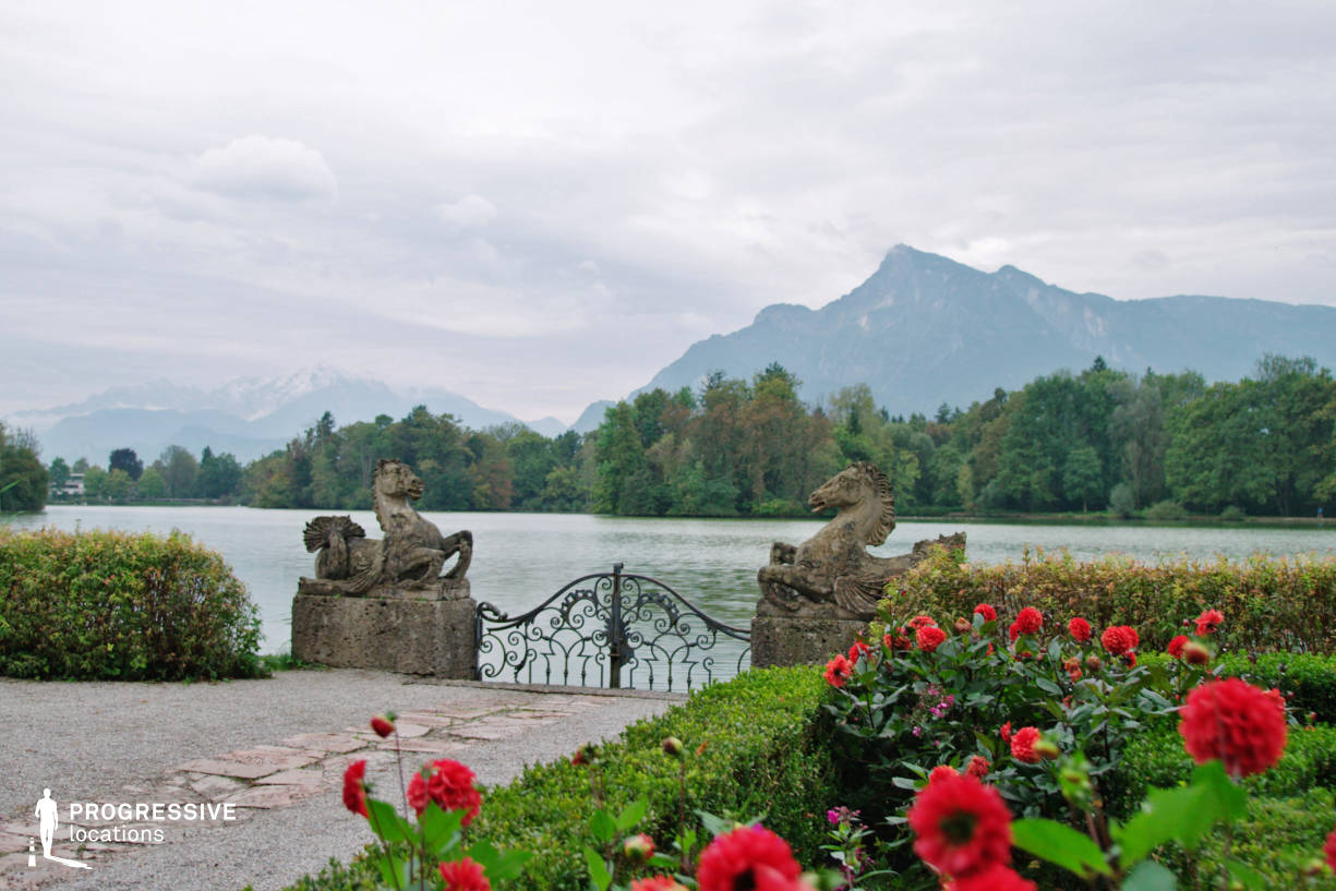 Locations in Salzburg: Lakeside Terrace, Leopoldskron Palace