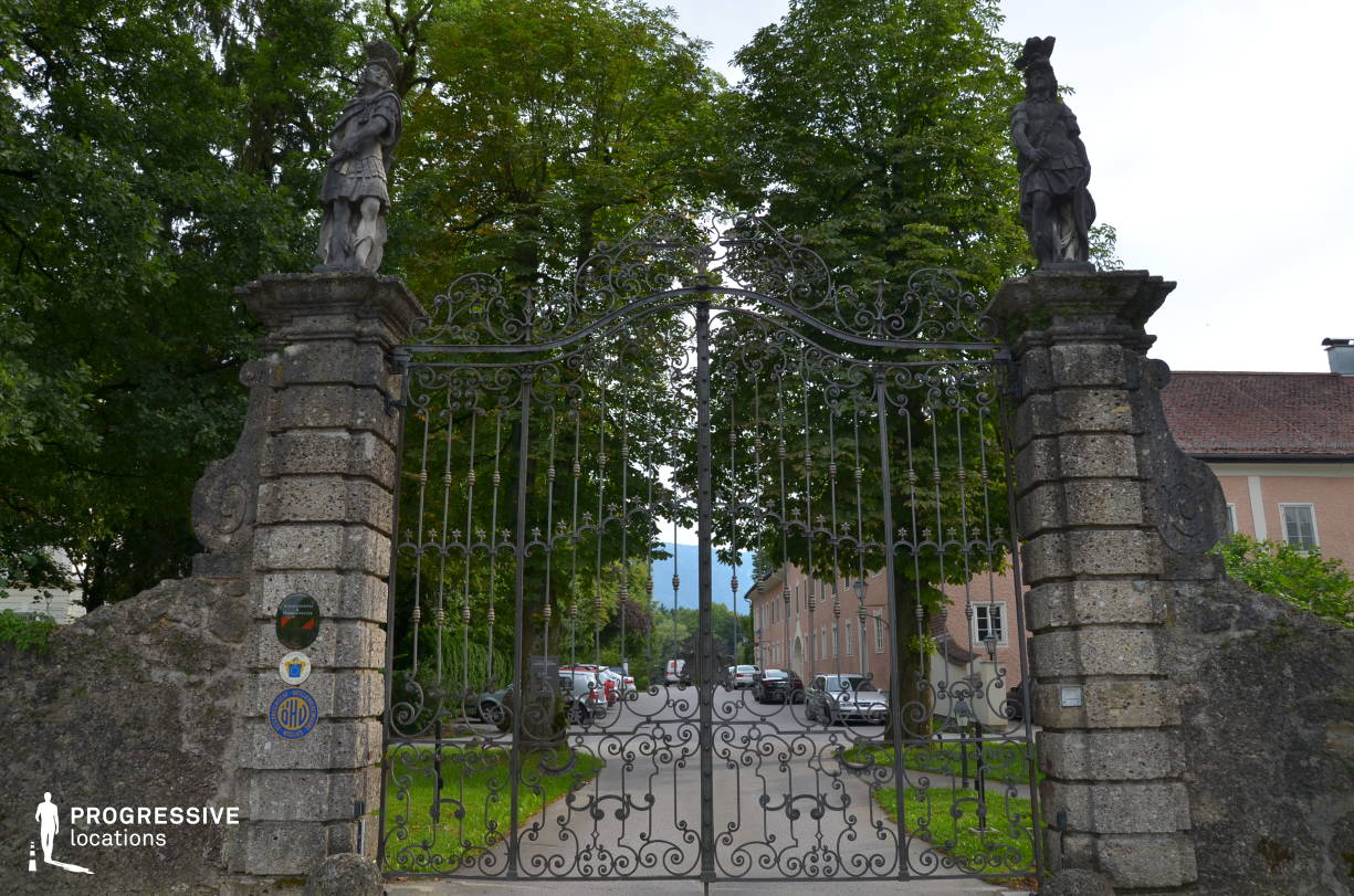 Locations in Salzburg: Ornate Gate, Leopoldskron Palace