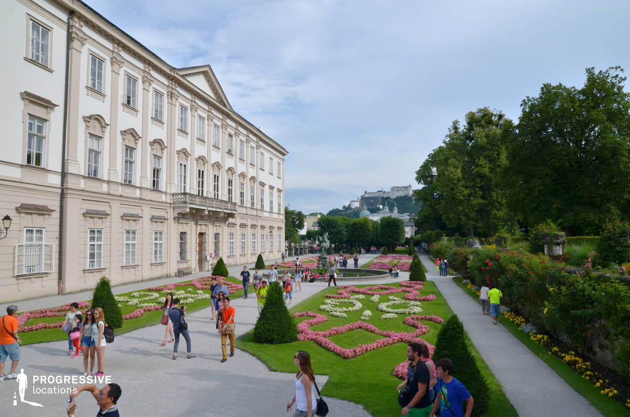 Locations in Salzburg: Mirabell Garden %26 Palace View
