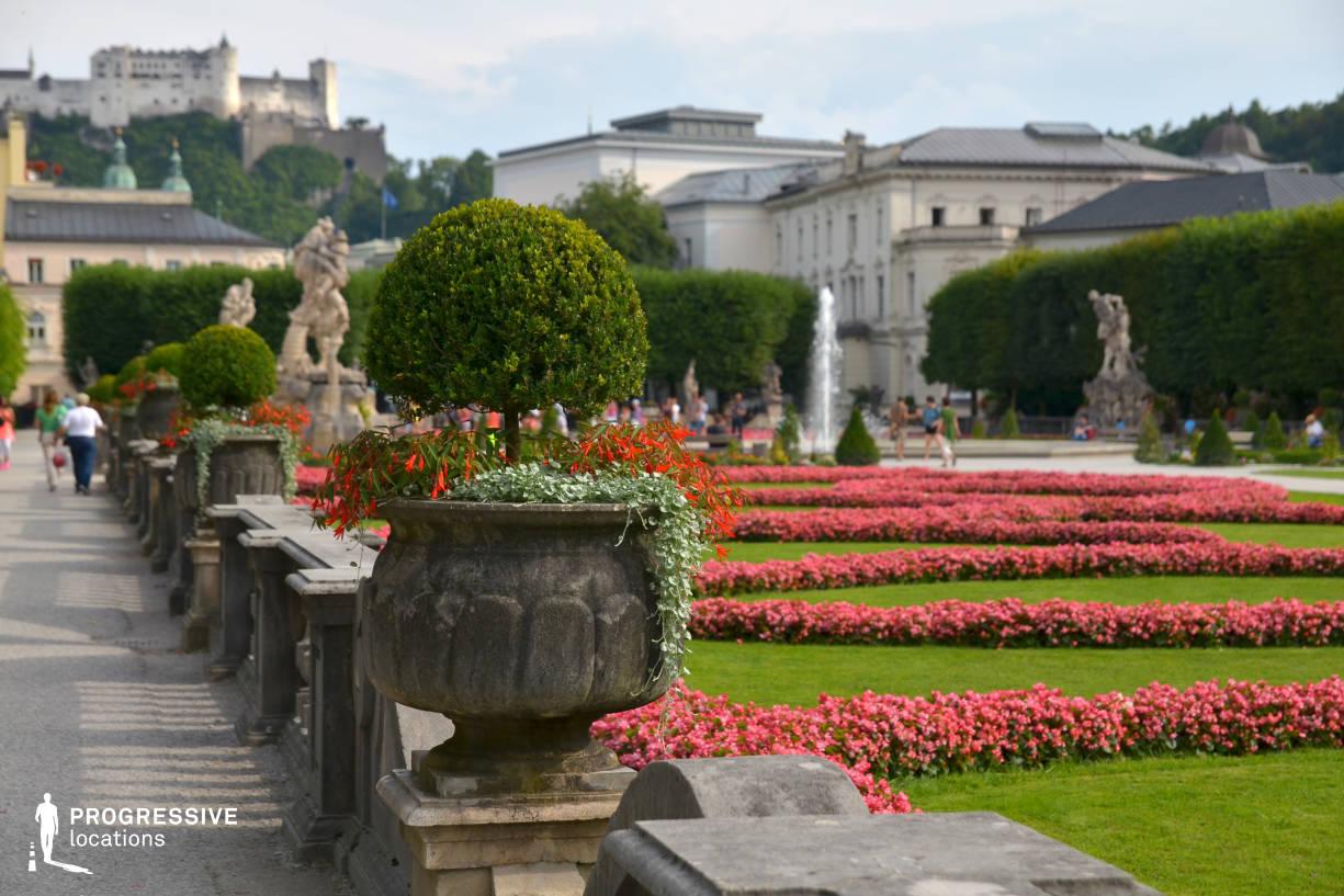 Locations in Salzburg: Stone Vase, Mirabell Garden