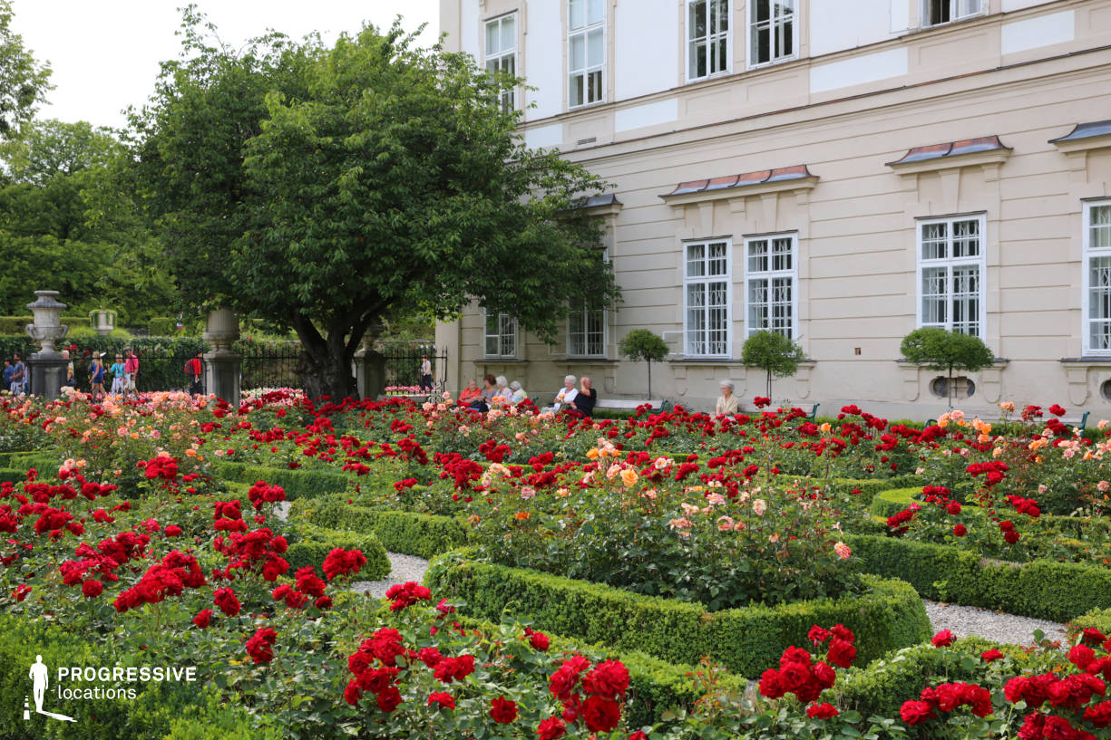 Locations in Salzburg: Rose Garden, Mirabell Palace