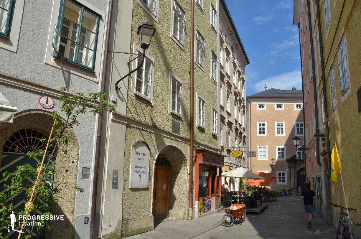 Locations in Salzburg: Chiemsee Gasse