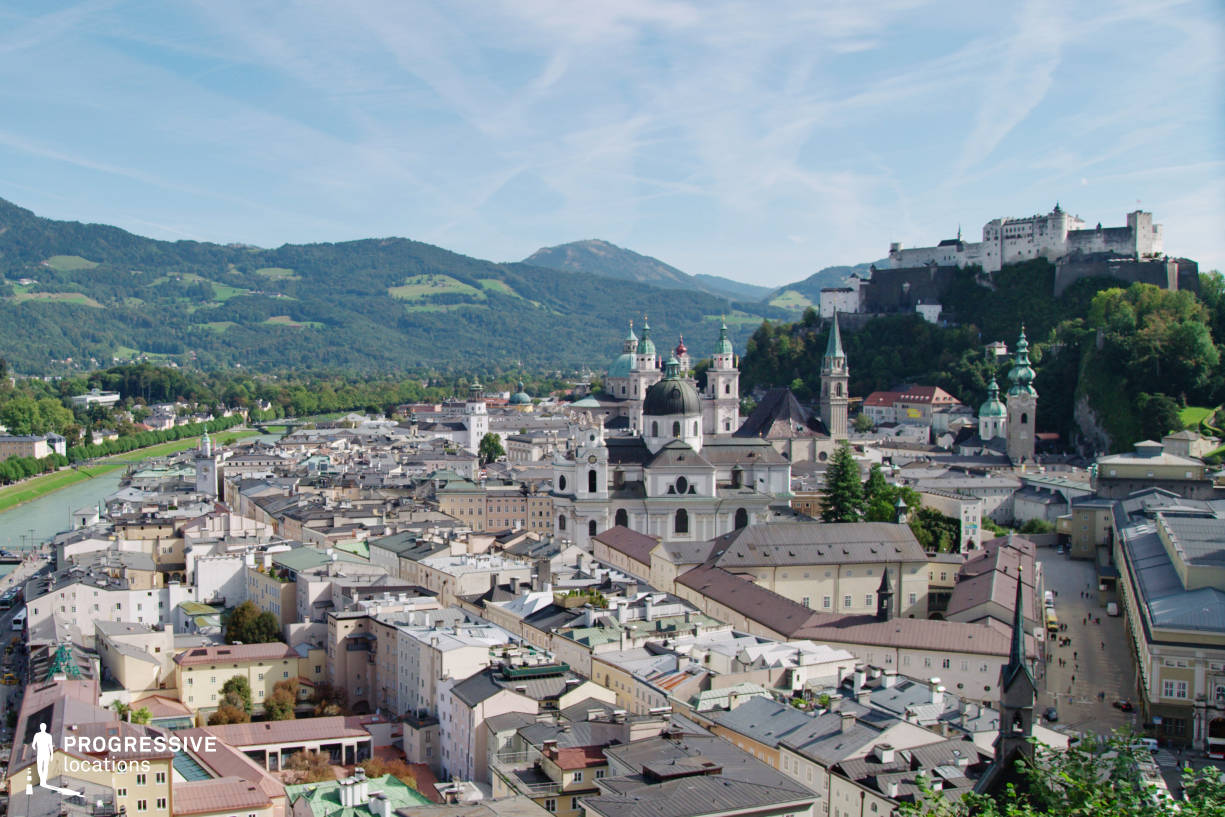 Locations in Salzburg: City Panorama (From Winkler Terrace)