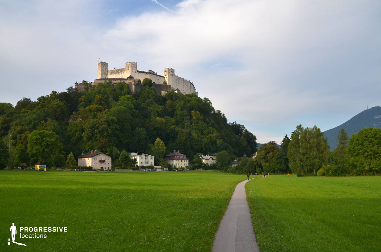 Locations in Salzburg: Fortress %26 Bike Route