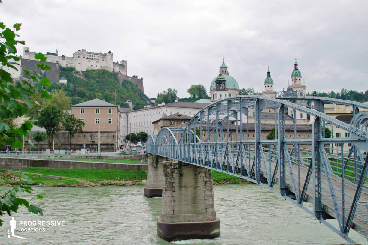Locations in Salzburg: Mozartsteg Bridge