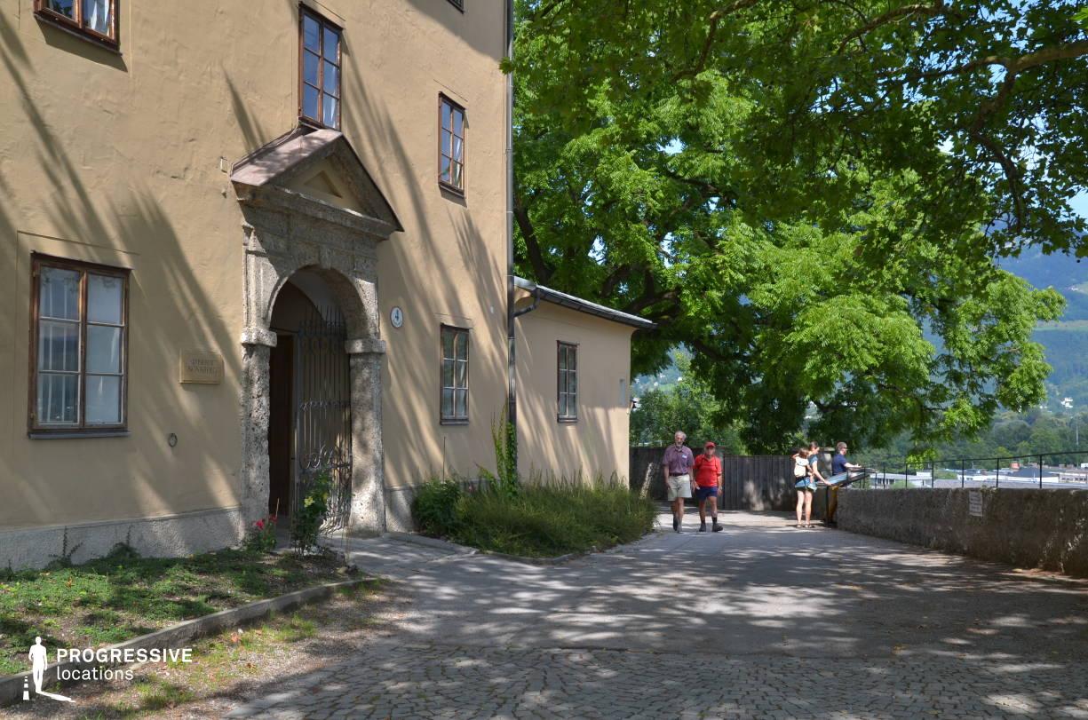 Locations in Salzburg: Terrace, Nonnberg Abbey