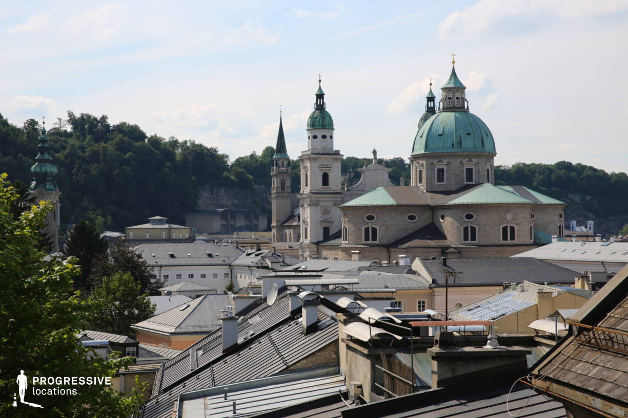 Locations in Salzburg: Rooftops %26 Salzburg Dome Towers