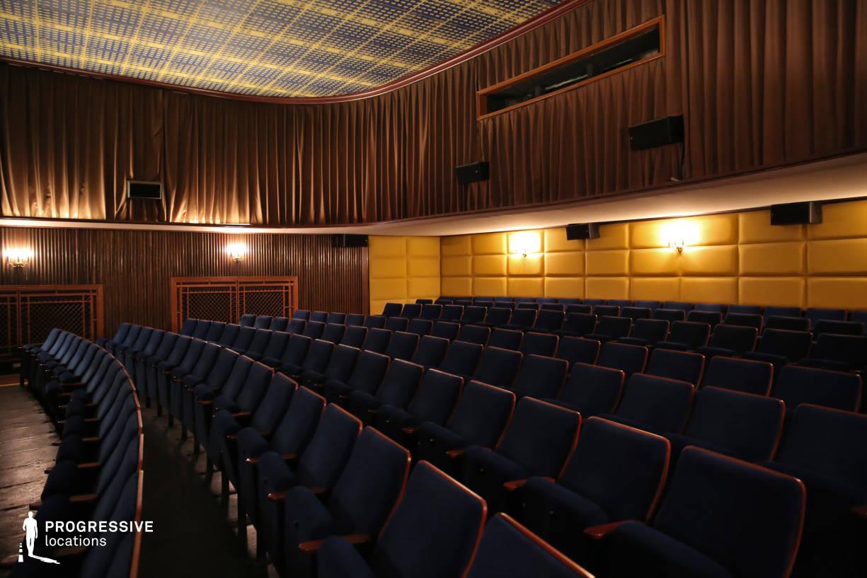 Locations in Austria: Screening Room with Classic Colors, Filmcasino