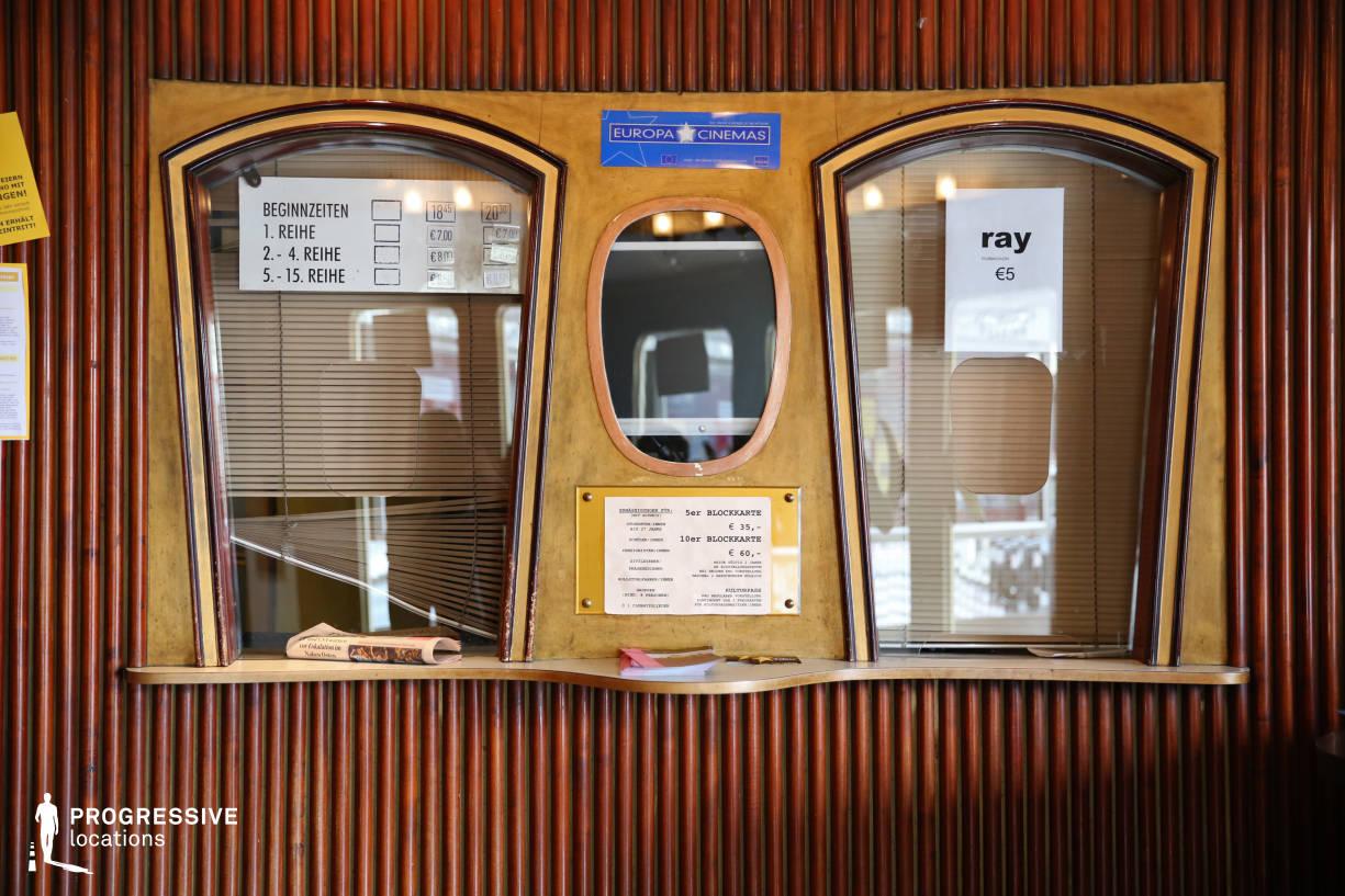 Locations in Austria: Copper Ticket Counter, Filmcasino