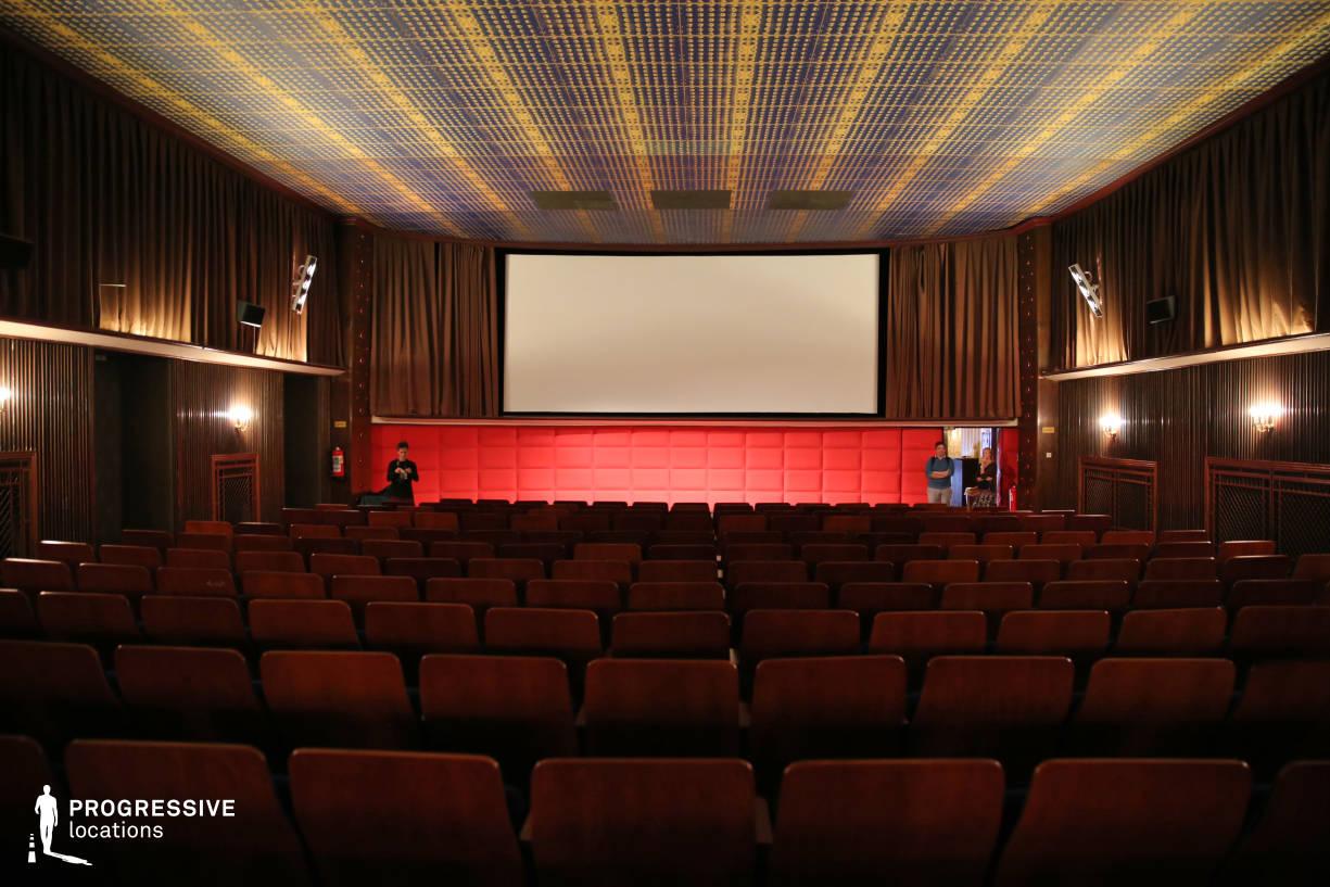 Locations in Austria: Screening Room, Filmcasino