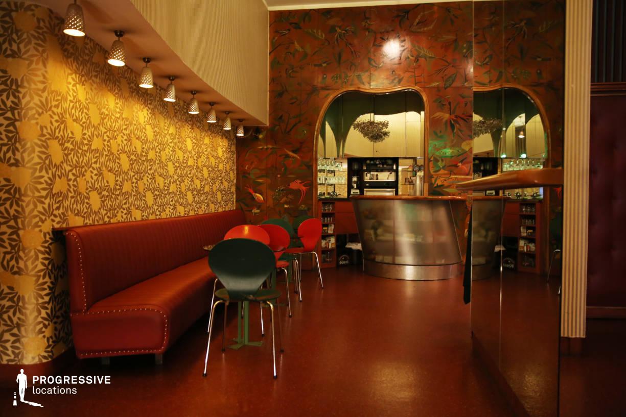 Locations in Austria: Vintage Cafe, Filmcasino