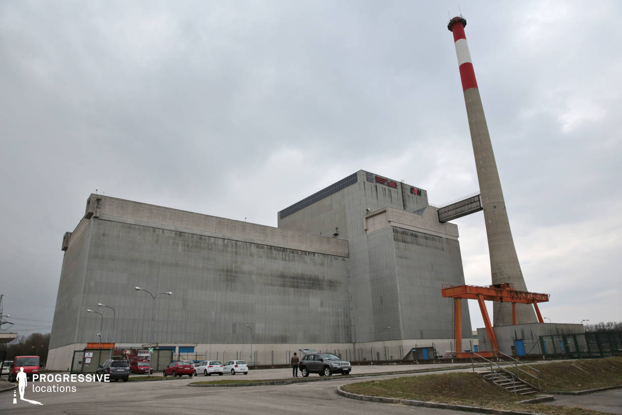 Locations in Austria: Exterior, Nuclear Power Plant