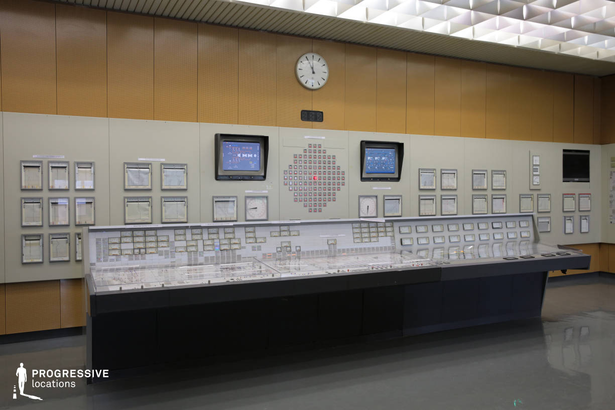 Locations in Austria: Switch Panel in Control Room, Nuclear Power Plant