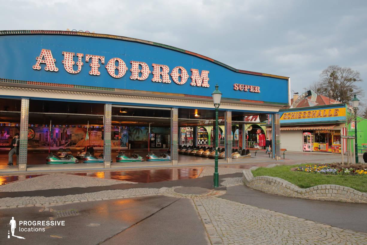 Locations in Austria: Autodrom Dodgem, Amusement Park