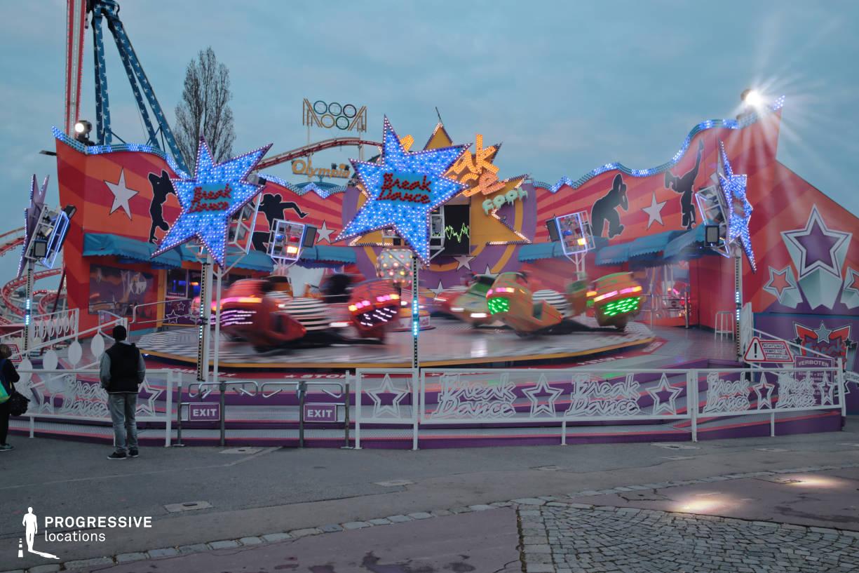 Locations in Austria: Break Dance Carousel, Amusement Park