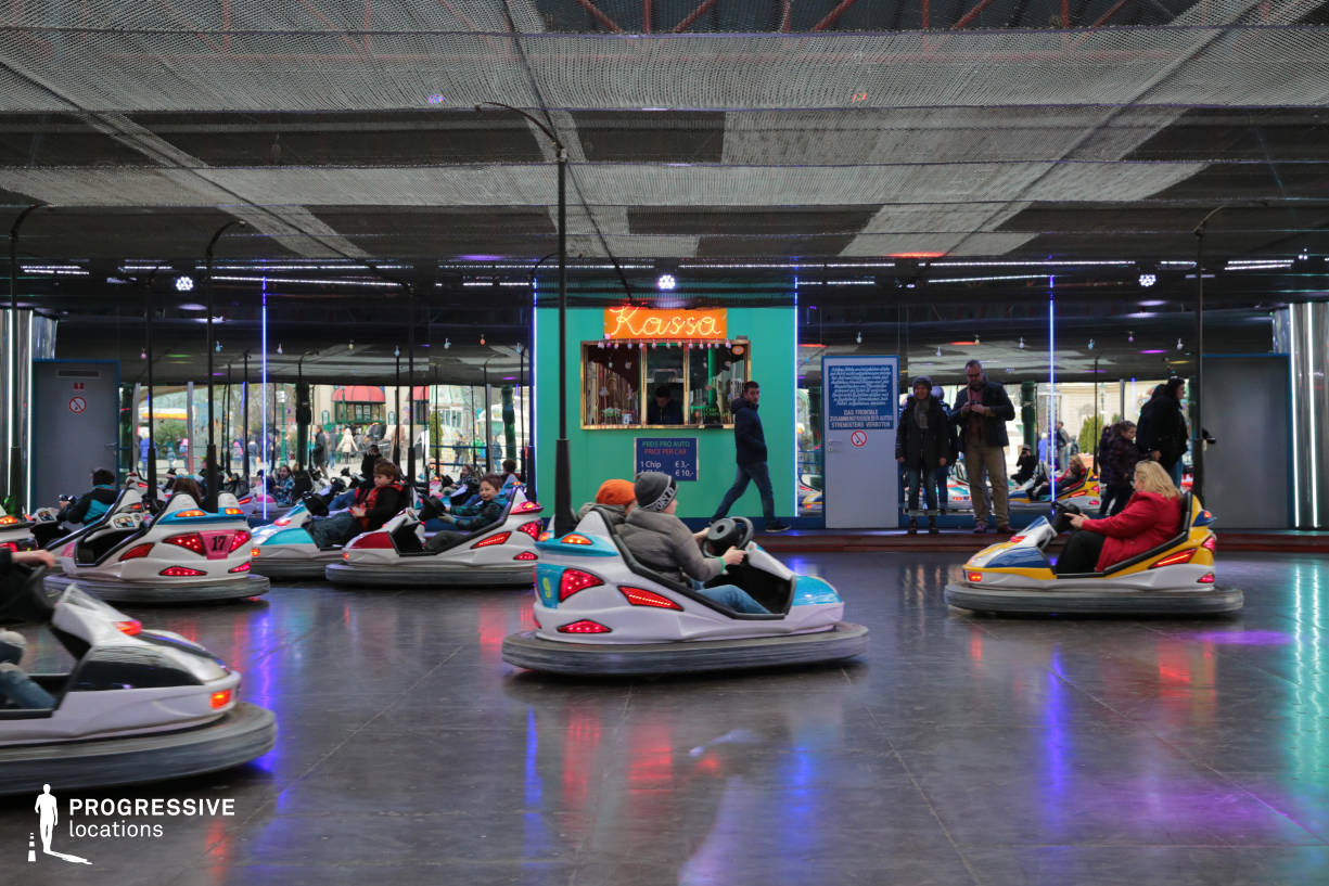 Locations in Austria: Dodgem Court, Amusement Park