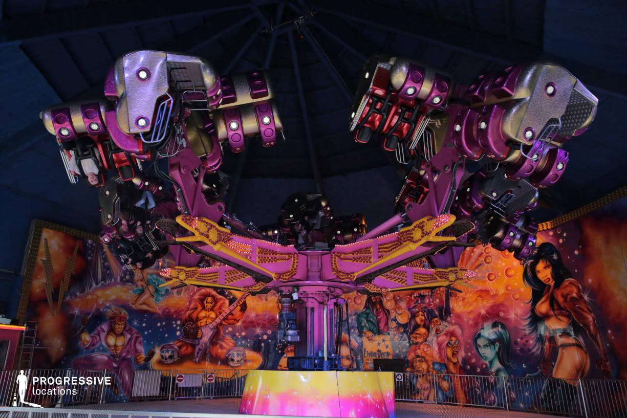 Locations in Austria: Extasy Extreme Carousel, Amusement Park