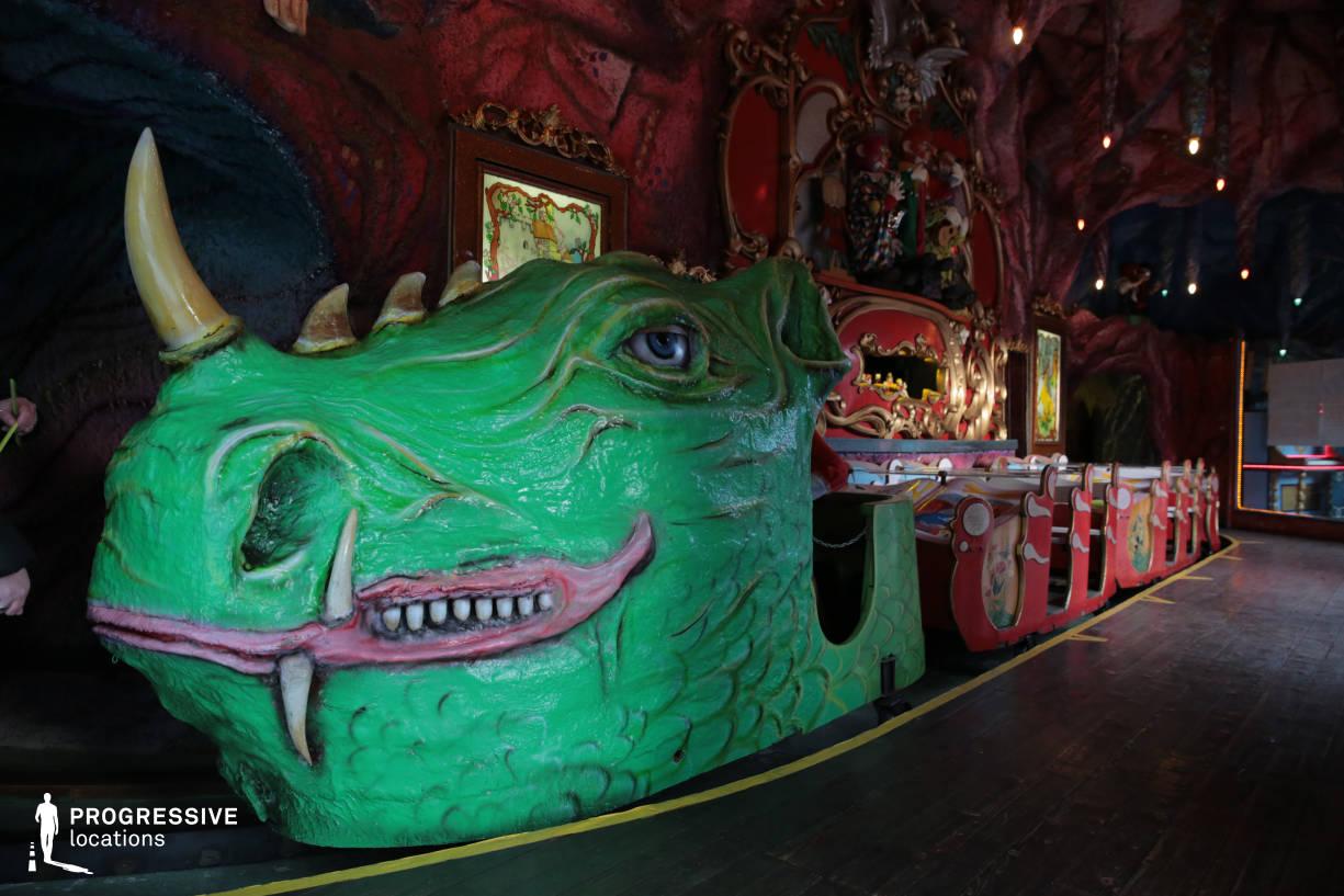 Locations in Austria: Fairytale Train, Amusement Park