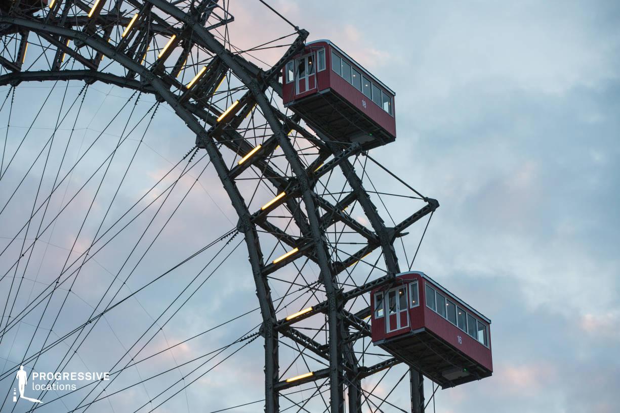 Locations in Austria: Ferris Wheel Cabins, Amusement Park