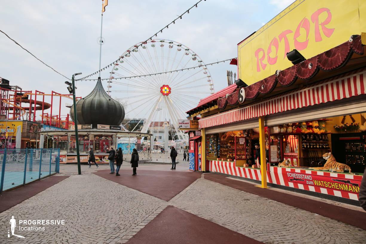 Locations in Austria: Ferris Wheel %26 Shooting Game, Amusement Park