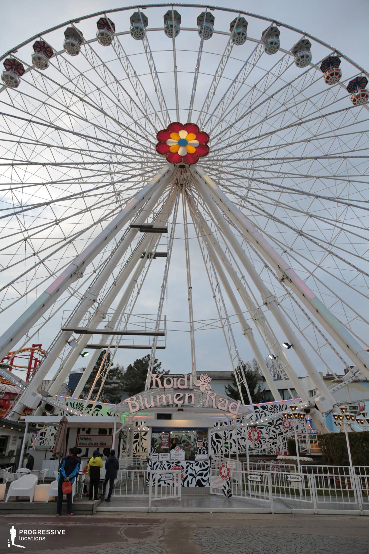 Locations in Austria: Flower Ferris Wheel, Amusement Park