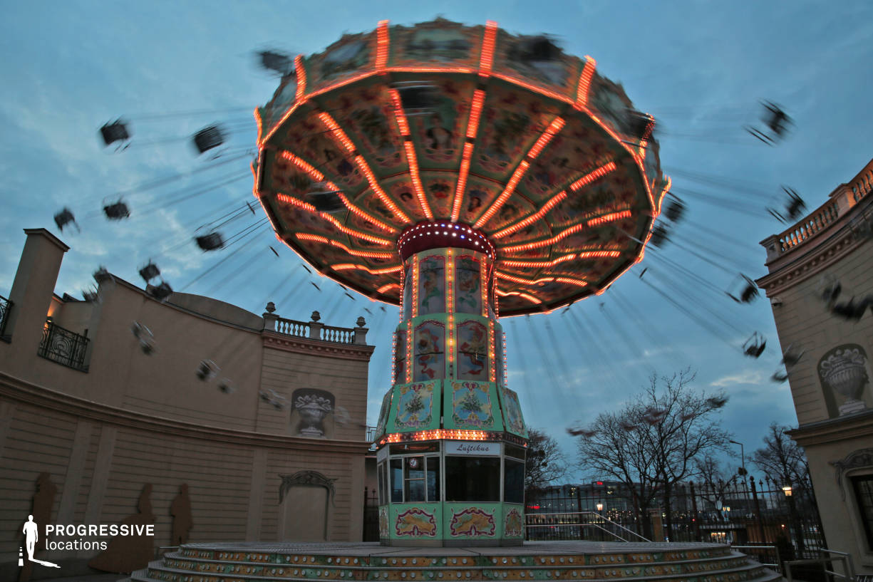 Locations in Austria: Flying Carousel, Amusement Park