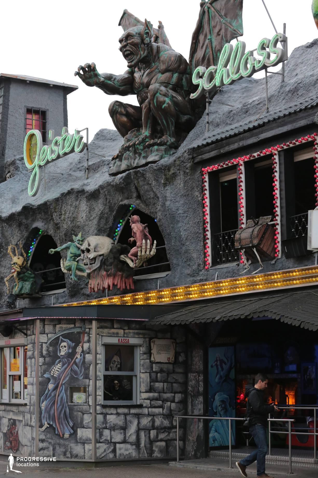 Locations in Austria: Haunted Castle, Amusement Park