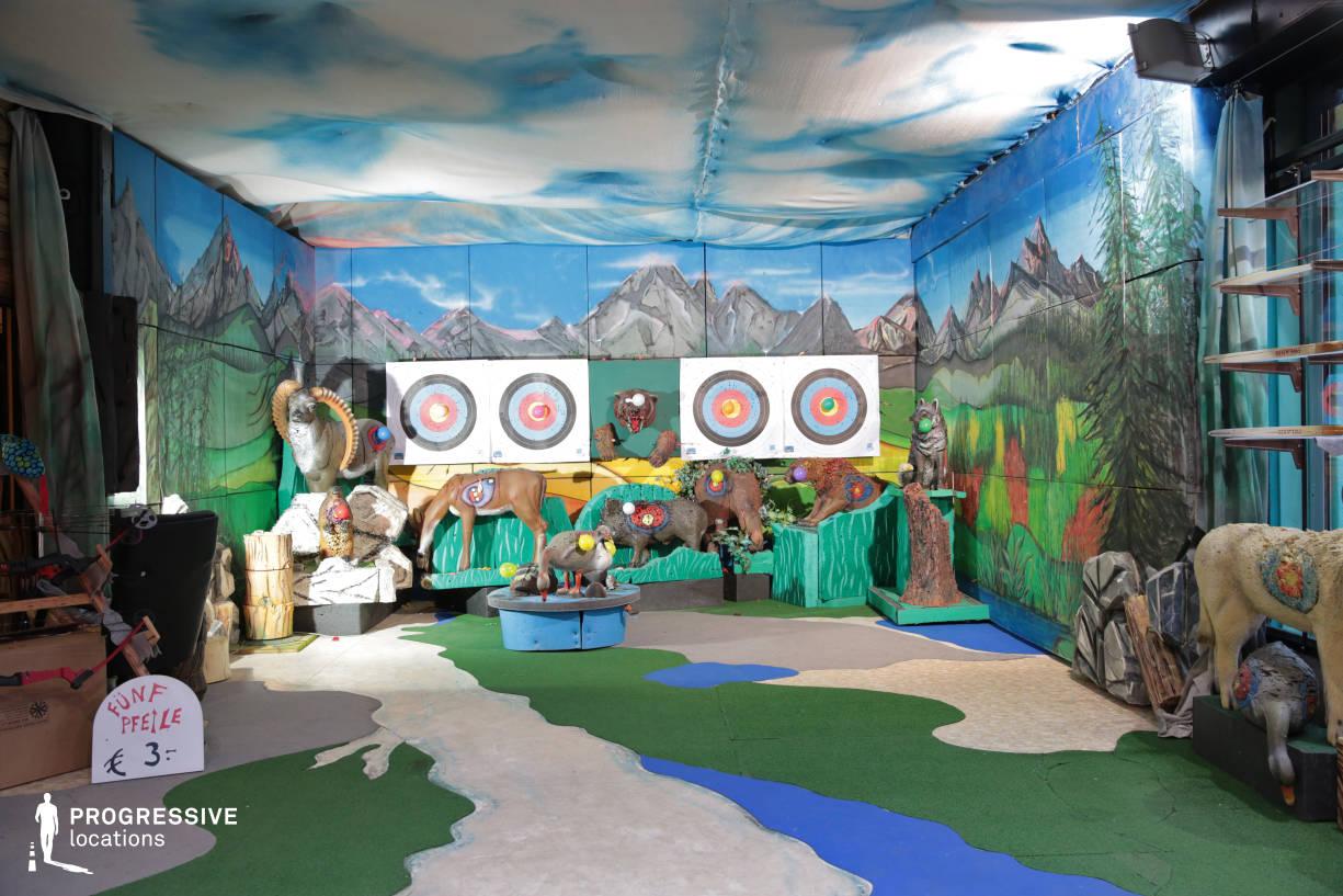 Locations in Austria: Shooting Game, Amusement Park