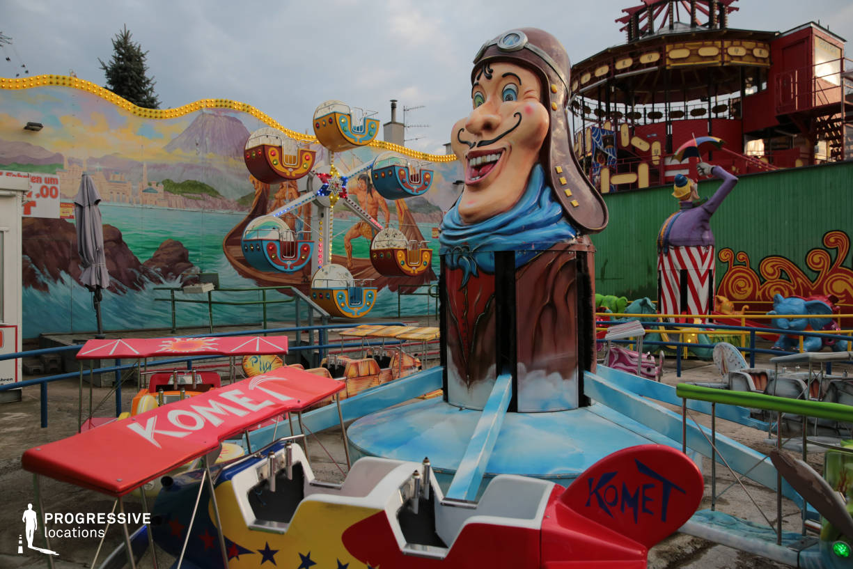 Locations in Austria: Kids' Spinning Game, Amusement Park