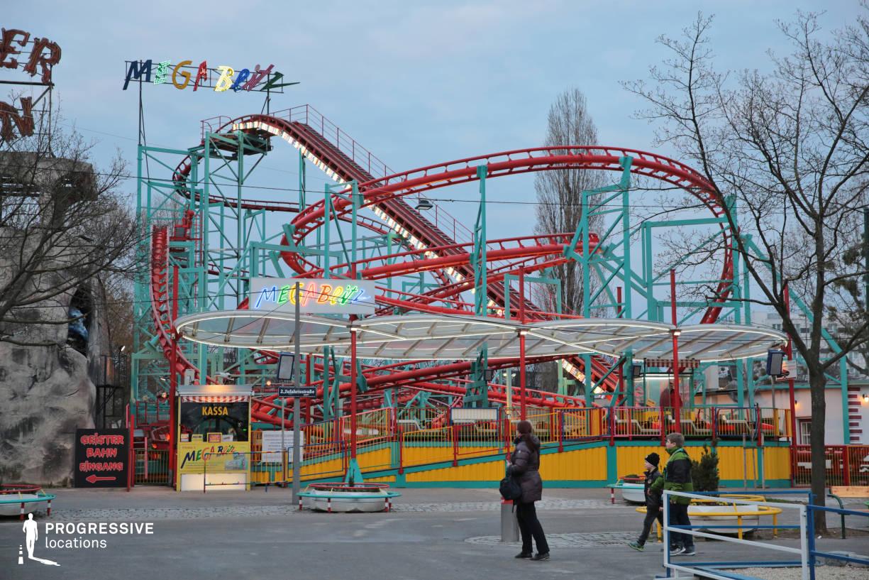 Locations in Austria: Roller Coaster, Amusement Park