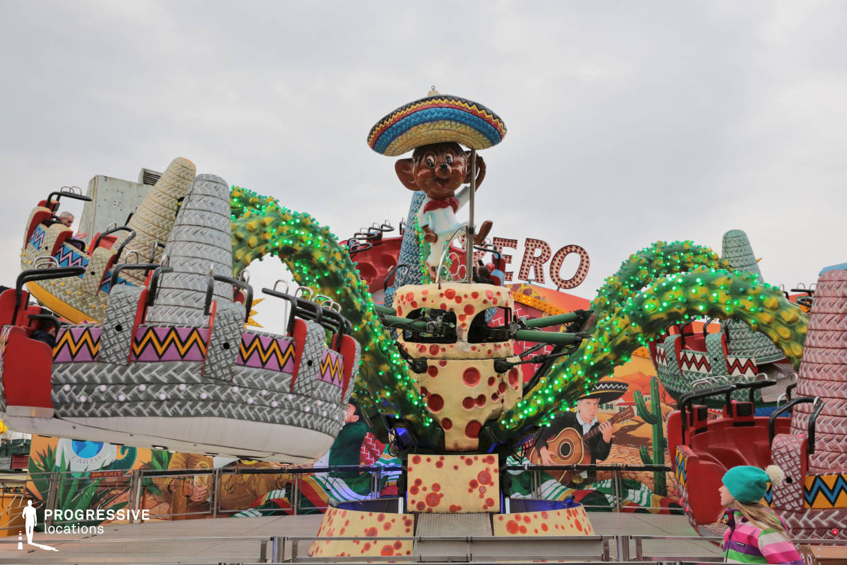 Locations in Austria: Sombrero Mexican Carousel, Amusement Park
