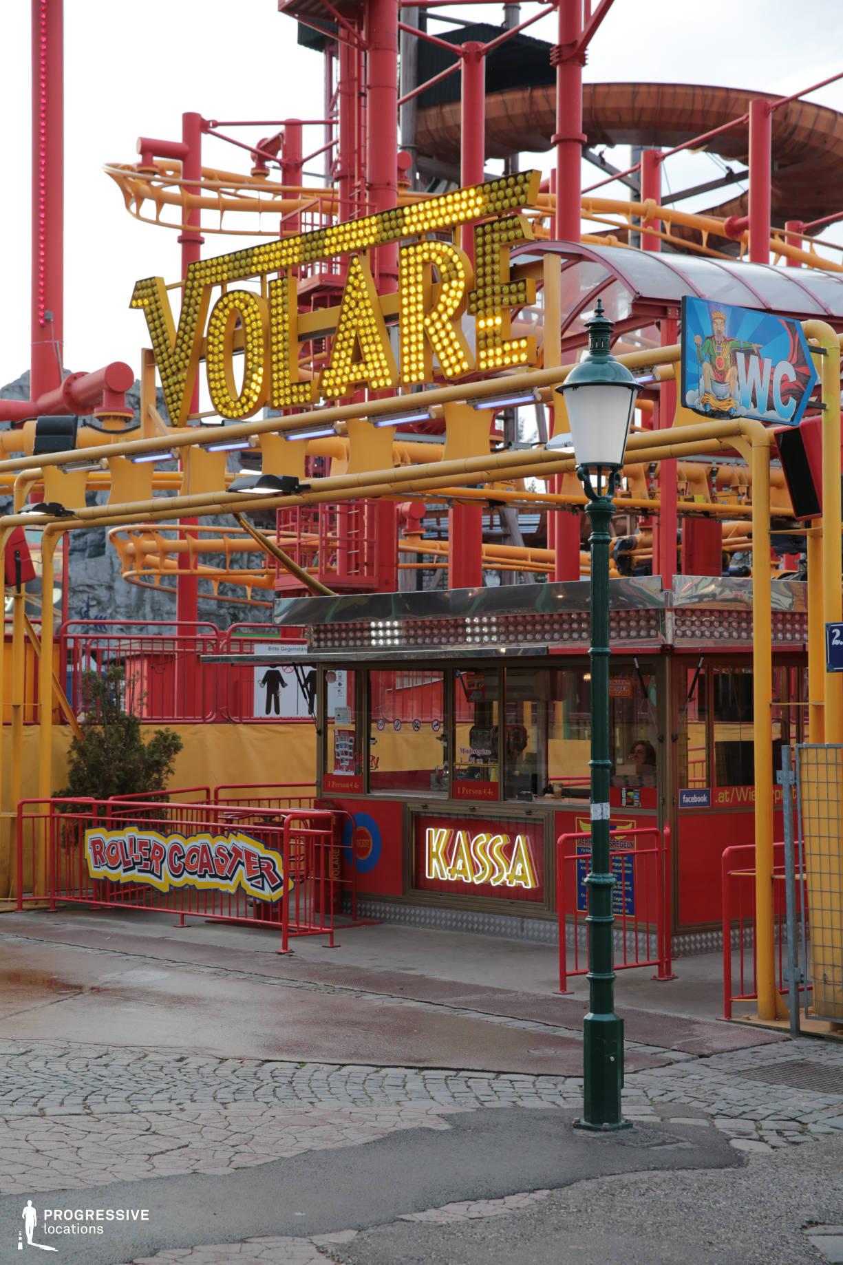 Locations in Austria: Roller Coaster Cassa, Amusement Park