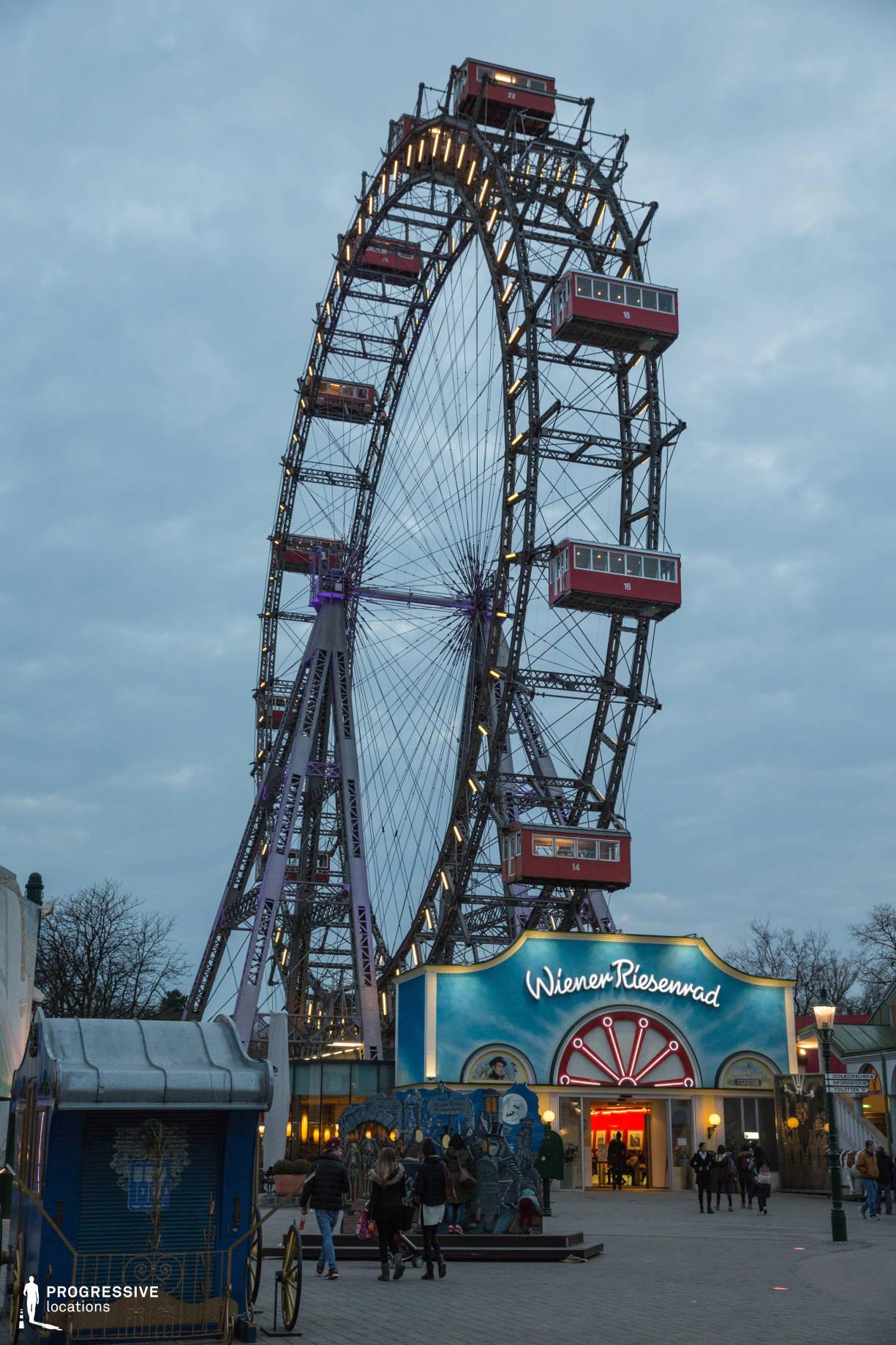 Locations in Austria: Wiener Riesenrad Ferris Wheel, Amusement Park