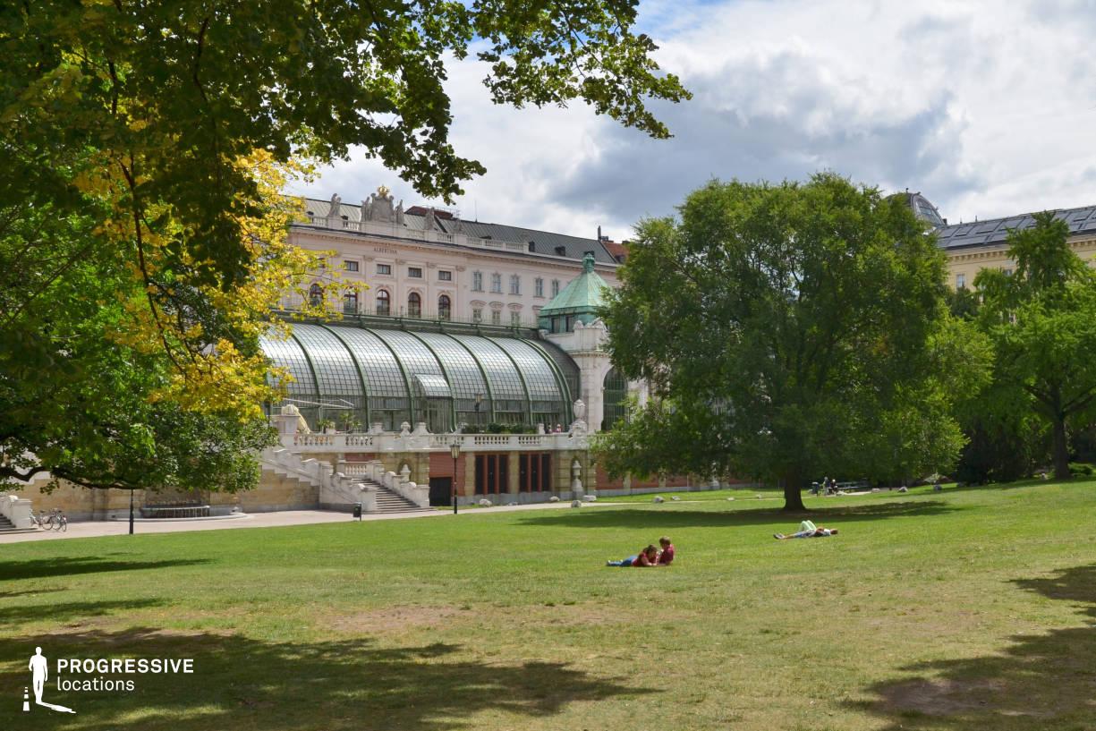 Locations in Austria: Glass House, Burggarten