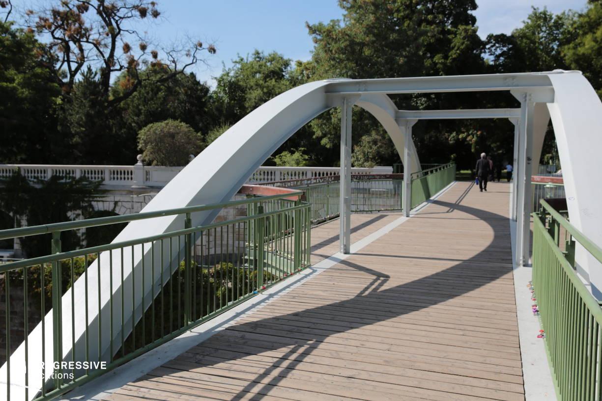 Locations in Austria: Bridge, Stadtpark